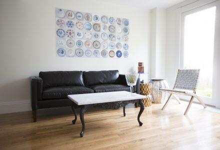 Simon Hunton - Sitting Room black sofa