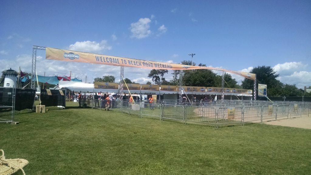 Entrance Gates to Music Festival