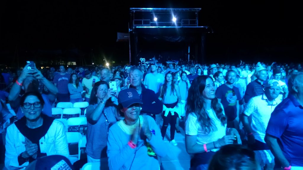 Audience at Martha's Vineyard Music Festival
