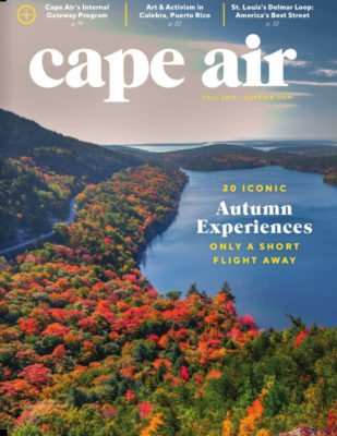 Fall Cover of Cape Air Magazine