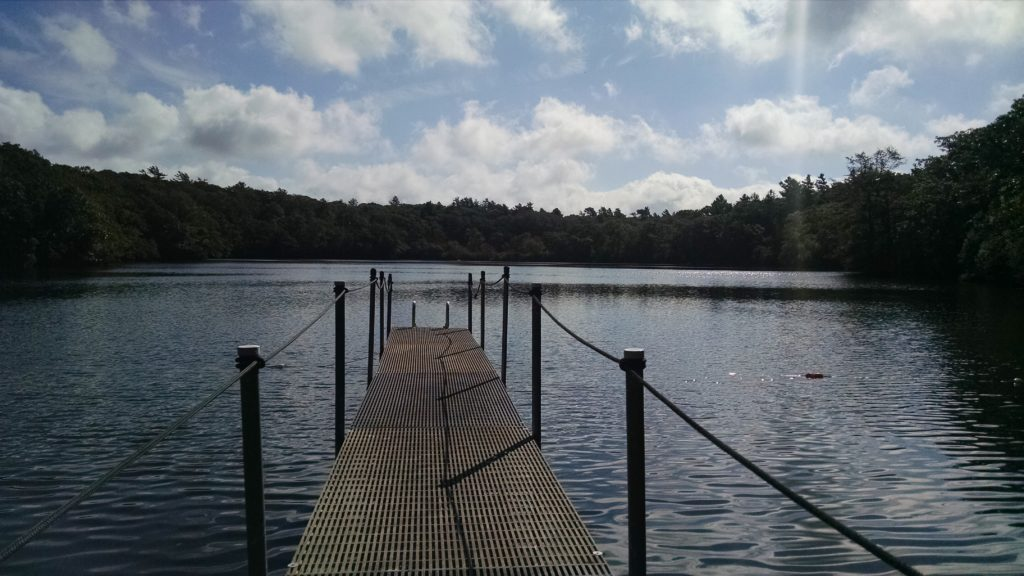 Dock at Ice House Pond