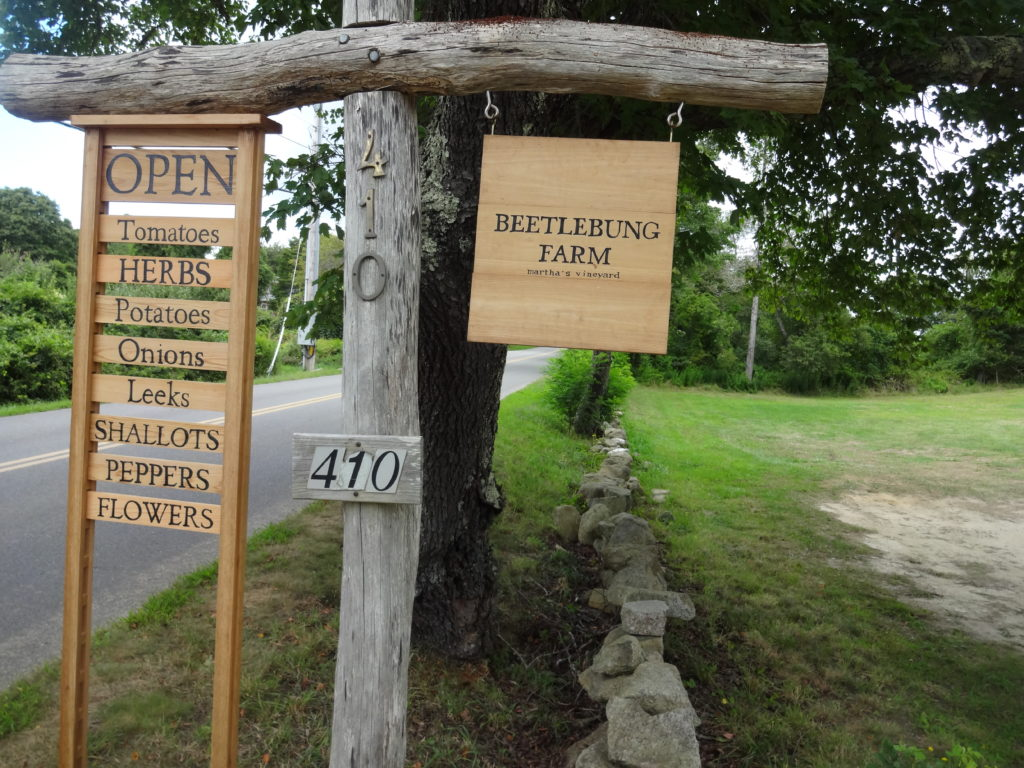Beetlebung Farm Stand Sign
