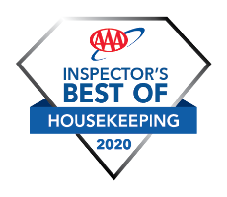 AAA Best Housekeeping 2020 Hotel Award Logo