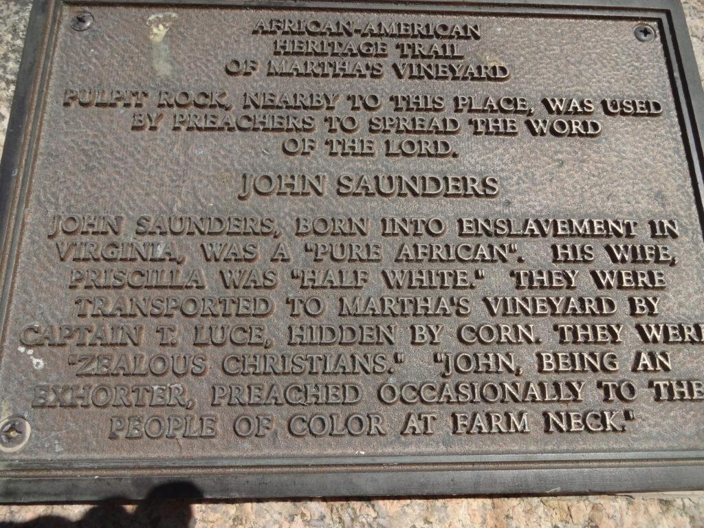 John Saunders Plaque