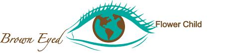 Logo Brown Eyed Flower Child Travel Blog